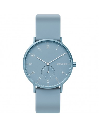 Reloj Skagen de aluminio Aaren azul