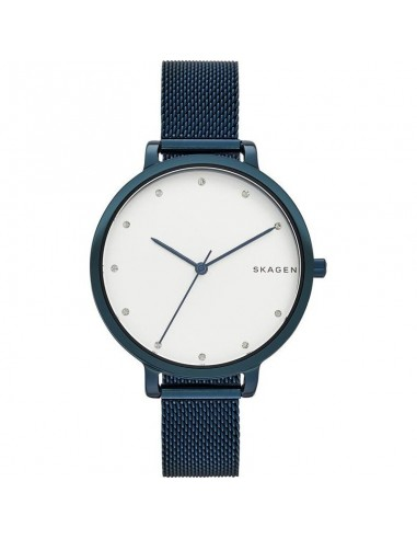 Reloj Skagen de acero Hagen azul