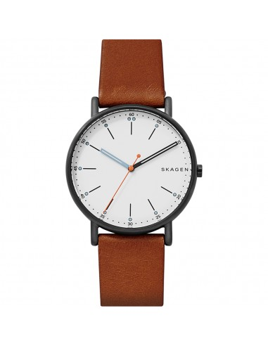 Reloj Skagen de acero Signature brown...