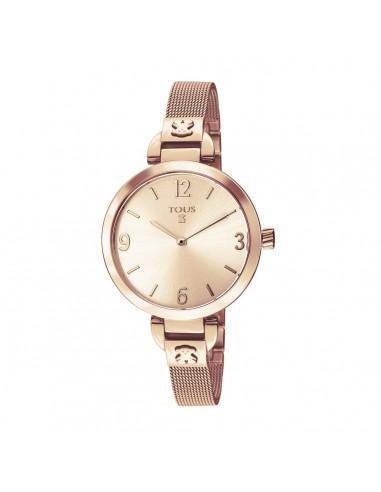 Reloj Tous Bohème de acero IP rosado