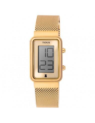 Reloj Tous Digisquared dorado