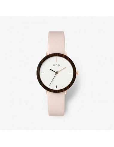 Reloj Mam Ferra Ébano rosa