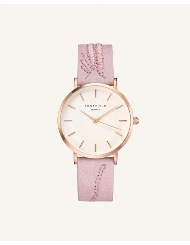 Reloj Rosefield City Bloom correa rosa