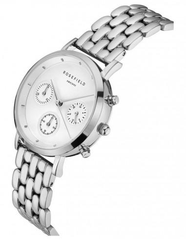 Reloj Rosefield Chrono The Gabby white