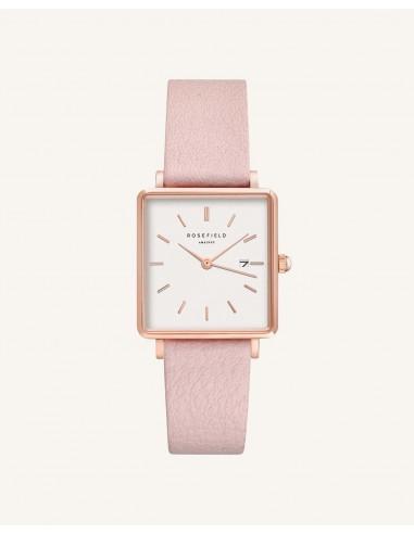 Reloj Rosefield The Boxy pink