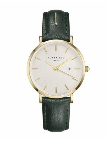 Reloj Rosefield September correa verde