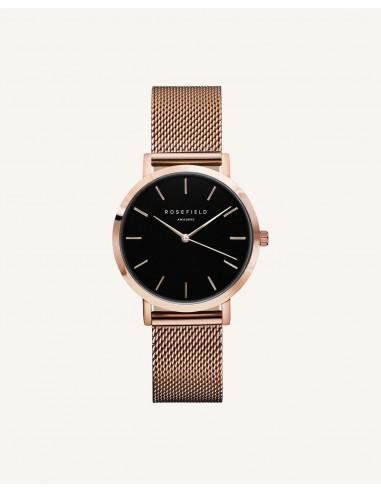 Reloj Rosefield The Tribeca negro oro...