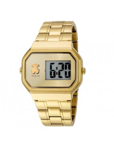 Reloj Tous D-Bear acero IP dorado