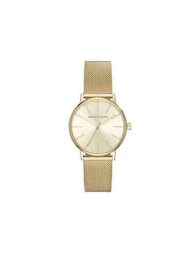Reloj Lola Armani Exchange en IP dorado