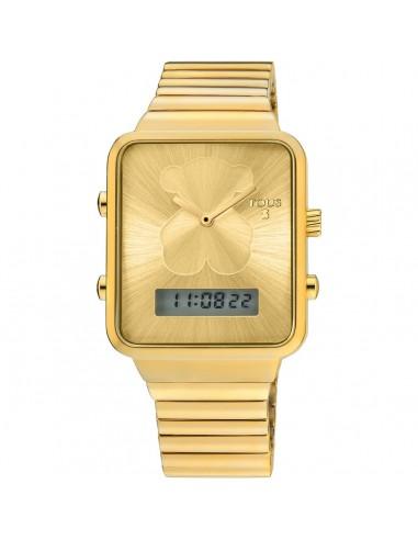 Reloj Tous digital I-Bear de acero IP...