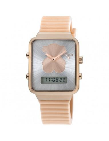 Reloj Tous I-Bear en IP rosado con...