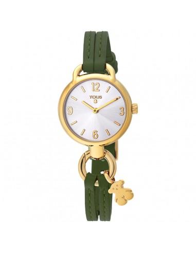 Reloj Tous To Hold con correa verde