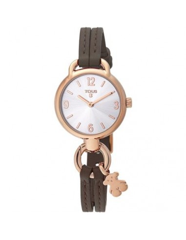 Reloj Tous To Hold con correa marrón