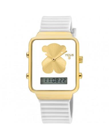 Reloj Tous I-Bear en IP dorado con...
