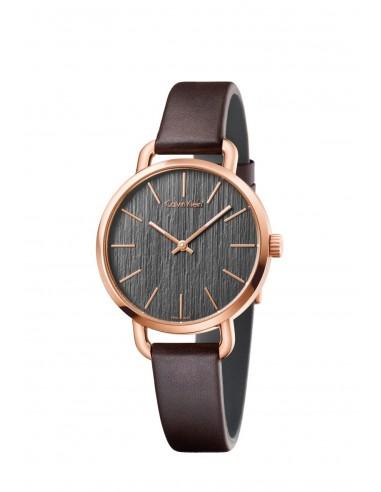 Reloj Calvin Klein Even en PVD rosado