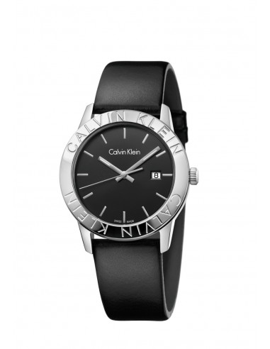 Reloj Calvin Klein Steady correa negra