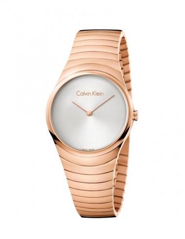 Reloj Calvin Klein Whirl en PVD rosado
