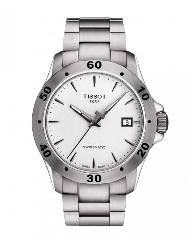 Reloj Tissot V8 Swissmatic bisel gris
