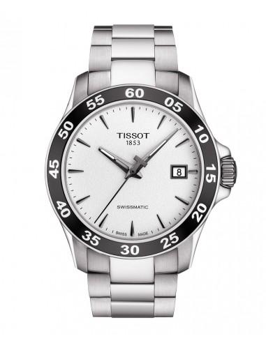 Reloj Tissot V8 Swissmatic bisel negro