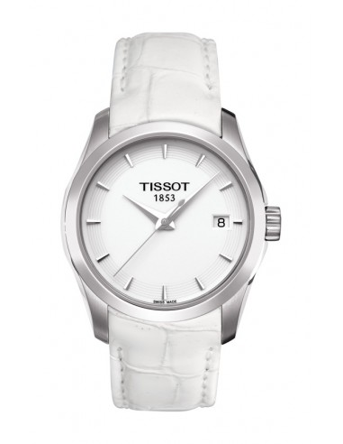 Reloj Tissot Couturier correa blanca
