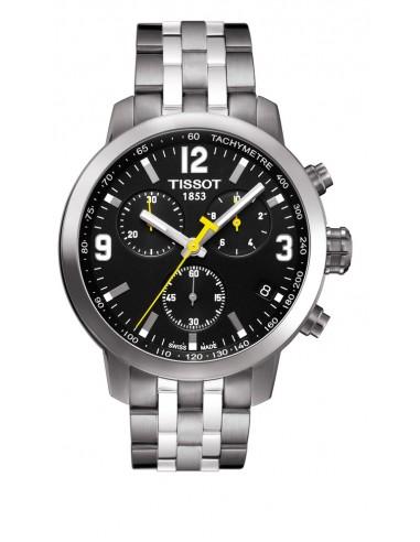 Reloj Tissot Prc200 chrono esfera negra