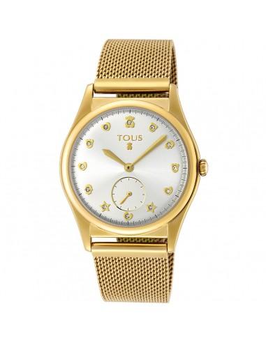 Reloj Tous Free de acero IP dorado