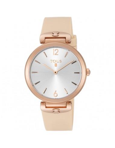 Reloj Tous S-Mesh de acero IP rosado...