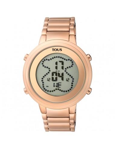 Reloj Tous Digibear de acero IP rosado