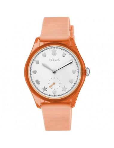 Reloj Tous Free Fresh con correa coral