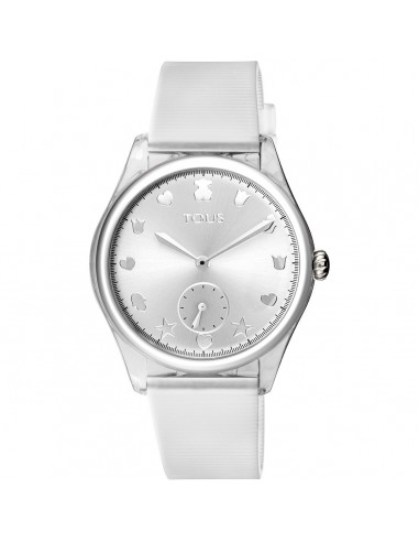 Reloj Tous Free Fresh con correa blanca