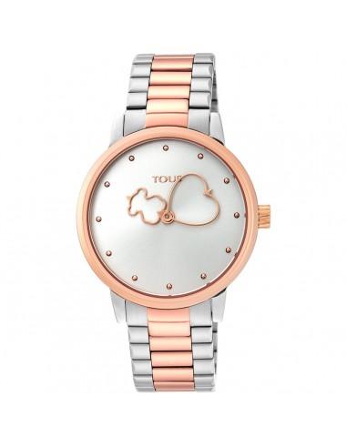 Reloj Tous Bear Time bicolor de...