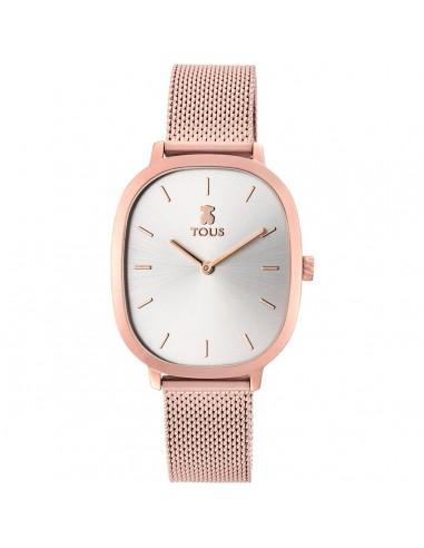 Reloj Tous Heritage de acero IP rosado