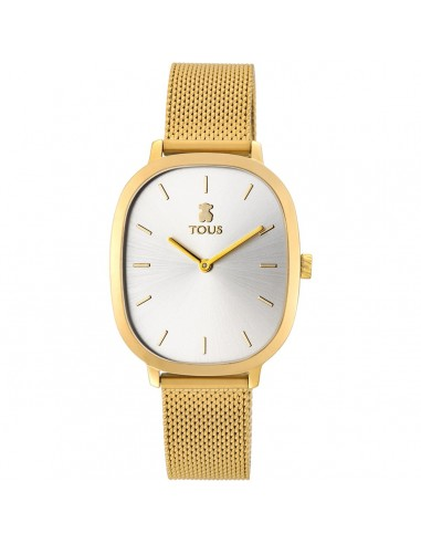 Reloj Tous Heritage de acero IP dorado
