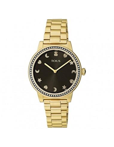Reloj Tous Nocturne en IP dorado con...