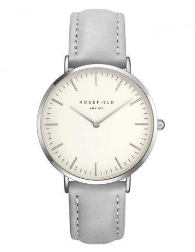 Reloj Rosefield Bowery correa gris...