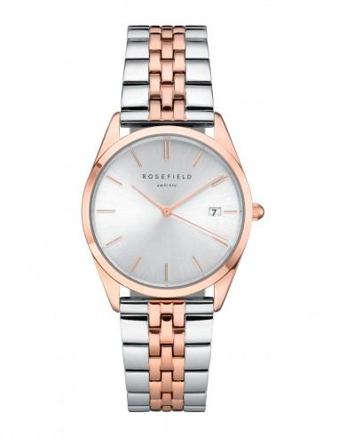 Reloj Rosefield The Ace bicolor rosa