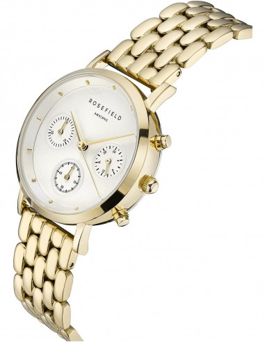 Reloj Rosefield Chrono The Gabby dorado