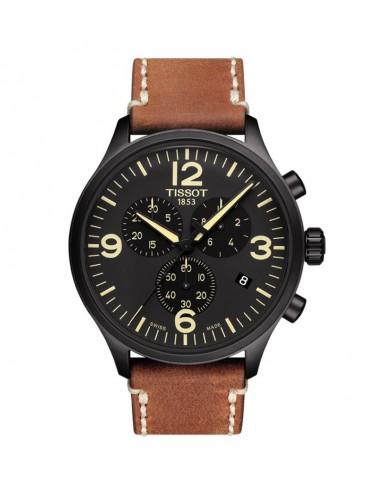 Reloj Tissot Chrono XL correa marrón